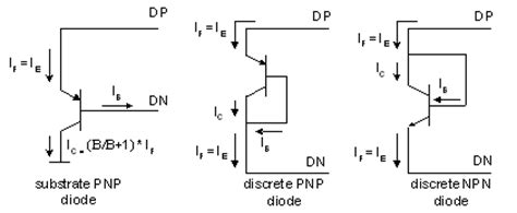 transistor diode diode connected transistor