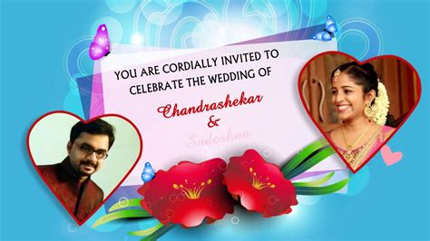 Wedding Anniversary Cards Whatsapp by E Card Wedding Invitation With Picture Whatsapp Friendly