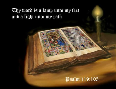 l unto my feet the text thy word is a l unto my feet and light path