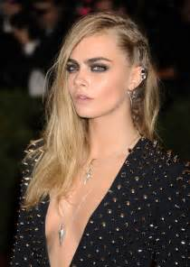 hair one side and other 45 sexy ideas for long hairstyles cara delevingne sexy
