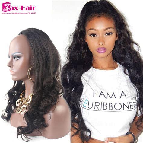 Half Wig Hairstyles by Wave 7a Human Hair Half Wigs Human
