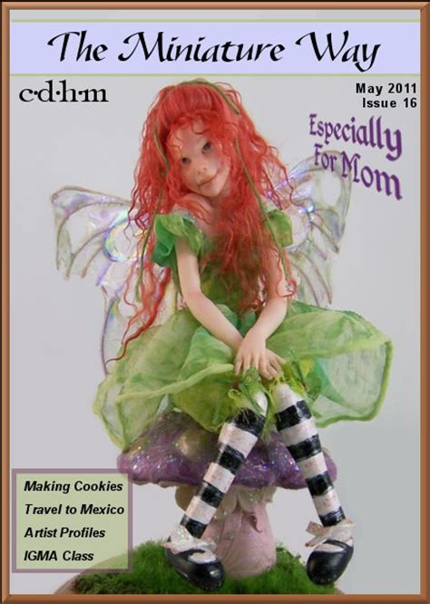 doll magazine free cdhm the miniature way free dollhouse miniature