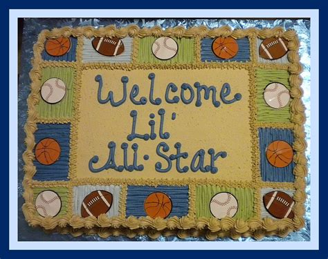 All Sports Baby Shower by All Sports Baby Shower Caker Tinkabellz17 Flickr