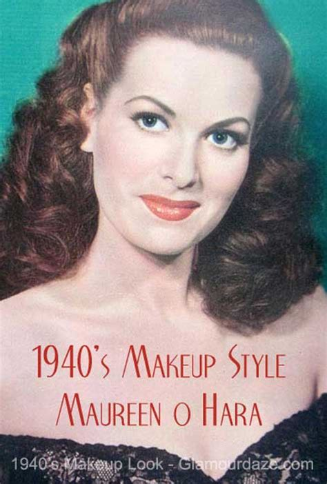 original 1940s hair tutorials uk the history of 1940s makeup glamourdaze