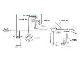 power relay 120v power wiring diagram and circuit schematic