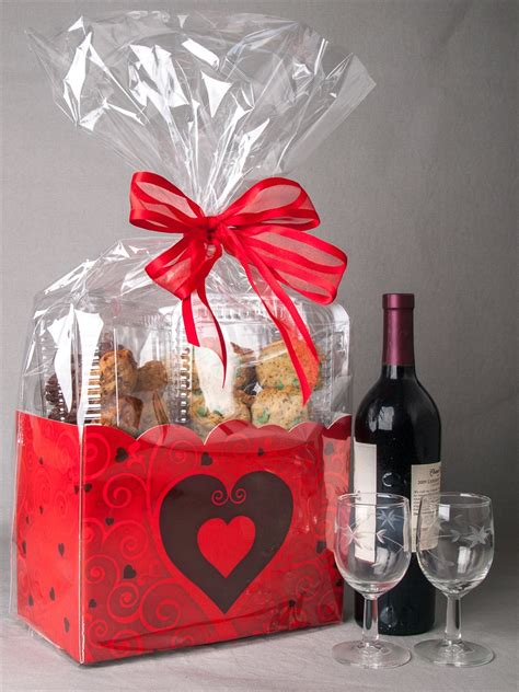 s day basket valentines day gourmet cookie gift baskets and chocolate