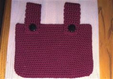 walker tote bag crochet pattern 1000 images about crochet totes for wheelchairs walkers