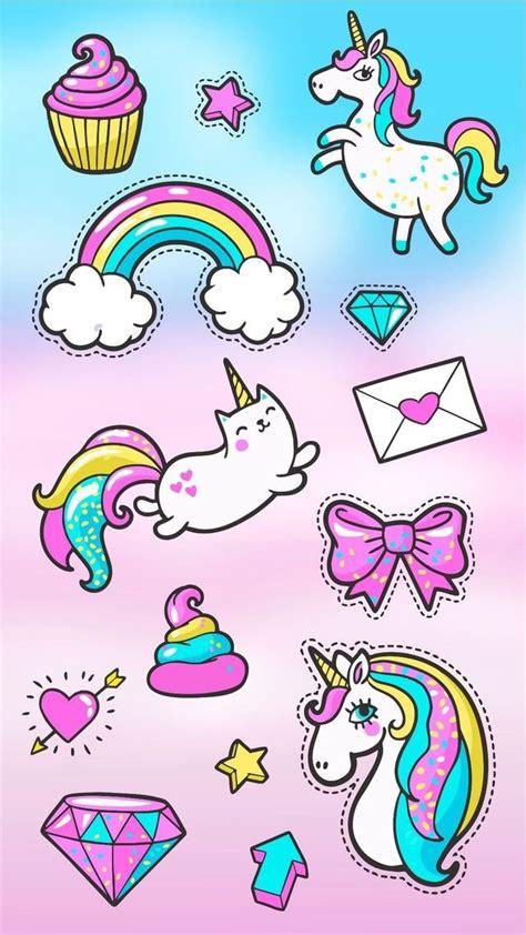 imagenes de unicornios chistosas pap 233 is de parede de unic 243 rnios para celular unhas da lal 225