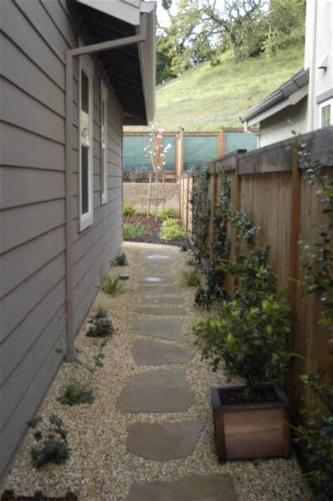 landscaping narrow side yard ideas for the house pinterest drought tolerant clotheslines