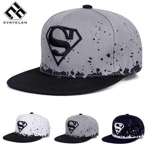 fashion snapback hats fashion superman hat and child snapback hat for boy