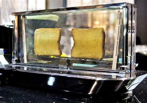 Transparent Toasters The Noun Glass Toaster From Bugatti Can Cook Meat Too