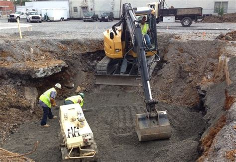 excavation procedure for foundation setting out safety measures