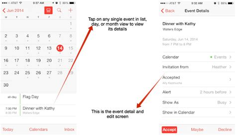 Iphone Calendar List View How To Switch Calendar Views On Your Iphone Or Imore