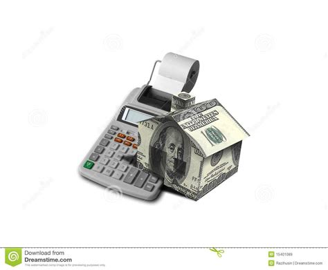mortgage calculator house mortgage calculator royalty free stock images image 15401089