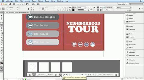 tutorial de indesign cs6 adobe indesign cs6 tutorial 61 the content collector and