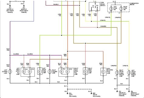 2002 nissan frontier turn signal wiring diagram frontier
