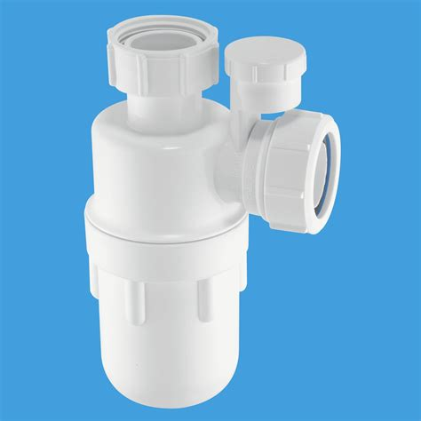 Mcalpine 1 1 2 40mm Kitchen Sink Bottle Trap C10 | mcalpine anti vac 1 1 2 40mm sink bottle trap c10v