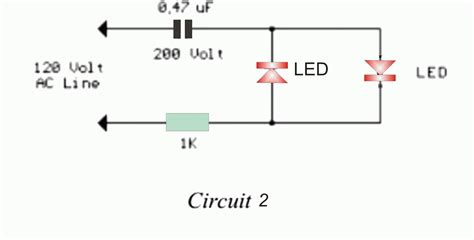 power supply without diode simple transformerless for led driver electronic circuit