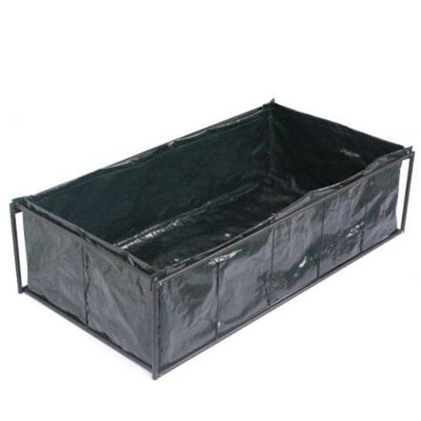 home depot raised bed viagrow 10 in plastic tomato raised garden bed kit planter v30928 the home depot