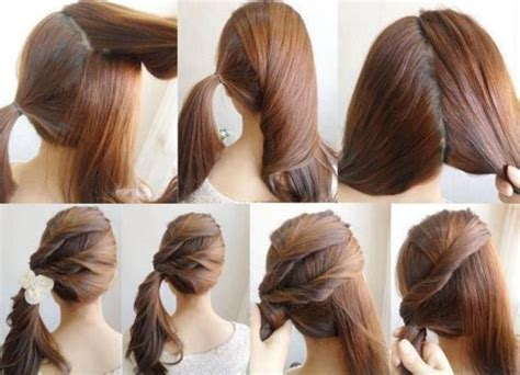how to do easy hairstyles for kids step by step easy hairstyles for long hair to do yourself diy easy