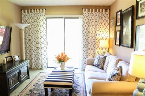 Curtains For Family Room Lovely Stenciled Curtains Ikea Hackers Ikea Hackers
