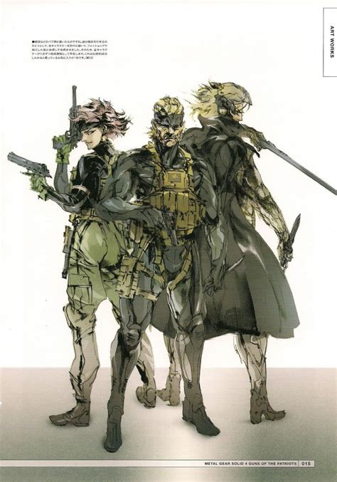 Metal Gear Solid V Metal Gearsolid Concept Iphone All Hp artworks de metal gear solid 4 guns of the patriots