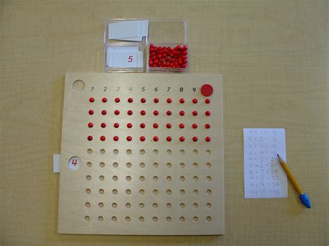 printable montessori multiplication board file multiplication board 4 jpg montessori album