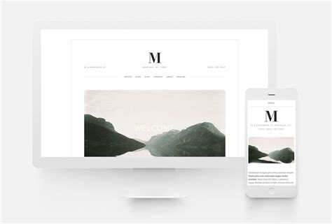 squarespace templates for bloggers squarespace website templates 10twelve creative agency