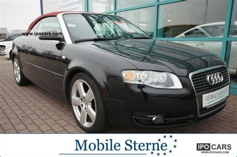 Anhängerkupplung Audi A4 Cabrio by 2006 Audi A4 Cabriolet 2 0 Tfsi Roof Bose 18 Inch