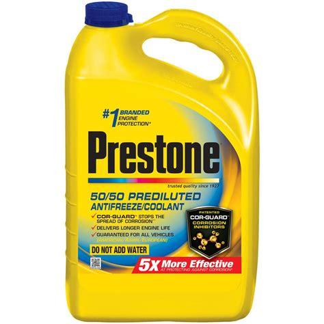 color of antifreeze prestone 128 fl oz antifreeze coolant af2100 the home