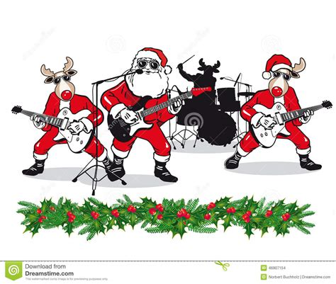 christmas band stock photo image of leaves background