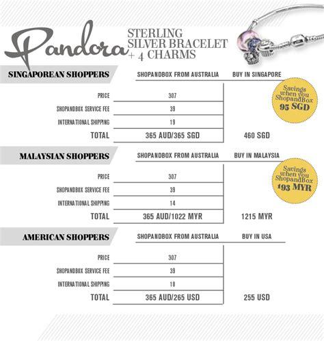 price comparison pandora bracelet charms shopandbox
