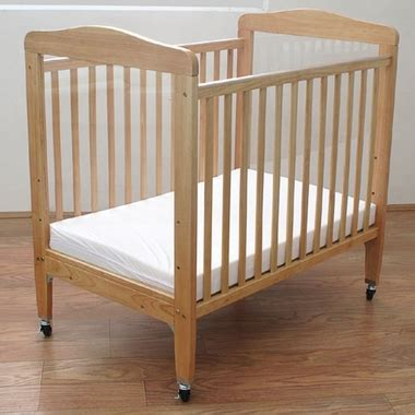 Baby Crib Mirror by La Baby Compact Wooden Window Crib With Mirror Panel In
