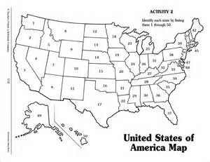 us map with states numbered america map black and white clipart clipart suggest