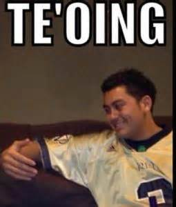 Tebowing Meme - move over tebowing here comes te oing hot topics