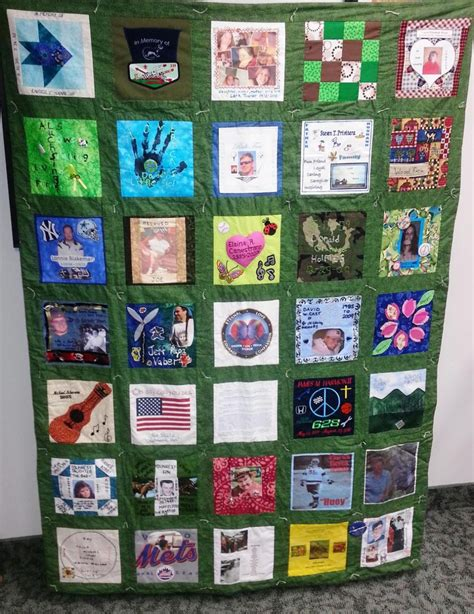 Family Picture Quilt by Fldrn Quilts Available For Display At Events Finger
