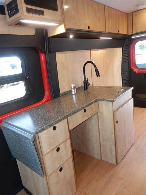 promaster camper van conversion office camper garage
