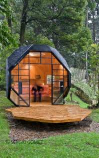 Cool Little Houses by Cool Child Playhouse In A Back Yard Polyhedron Habitable