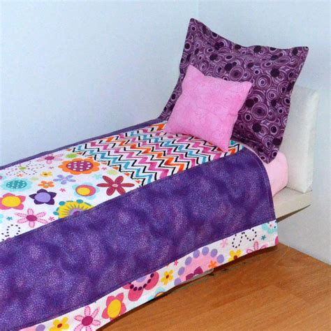american girl bed set 18 inch doll bedding sets american girl doll by sparklypoodle