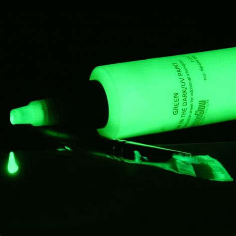 glow in the paint glow inc brilliant green glow in the uv paint