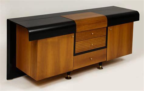 1980s furniture pierre cardin sideboard buffet dresser black and wood