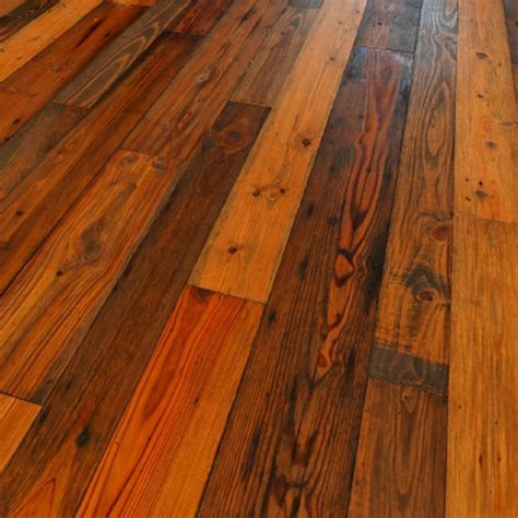 """Heart Pine Reclaimed   Old Dirty Goat OIL 5/8"""" x 6 1/2"""" x"""