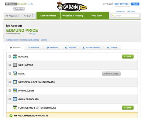 godaddy domains  hosting