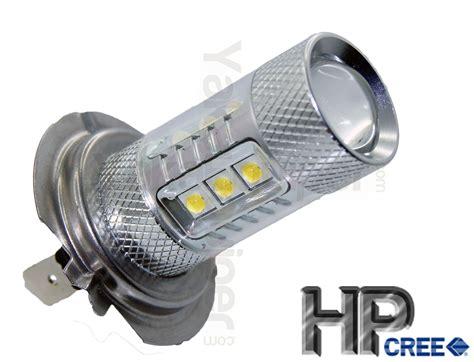 h7 le hpc 80w led bulb h7 white fog light yakaequiper