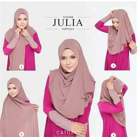 tutorial halfmoon qaira hijab 1000 images about hijab tutorial and tips on pinterest