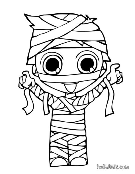 mummy coloring pages mummy s coloring pages hellokids
