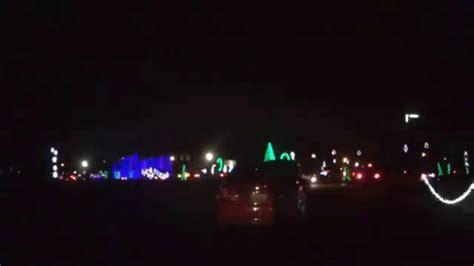hank aaron stadium lights hank aaron s stadium christmas lights youtube