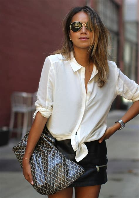 Knots Blouse White 5 tips on how to wear shirts and look style advisor