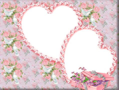 Wedding Photo Album Design Two Rose With Wedding Frame Background 2421