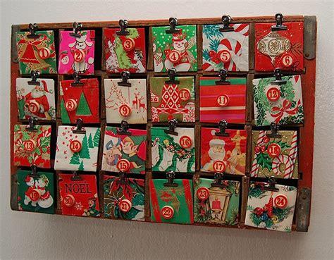 How To Make A Paper Advent Calendar - kitschy coca cola crate advent calendar